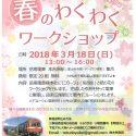 岳南電車を飾る 春のわくわくワークショップ 参加募集のお知らせ